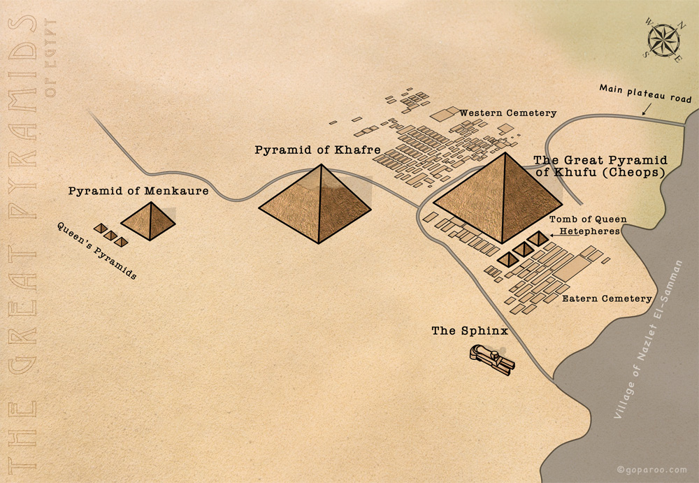 The Great Pyramids of Egypt Picture thumbnail