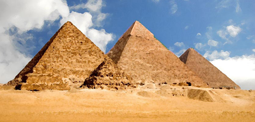 Great Pyramids of Egypt - Giza, Nile Valley