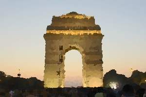 India Gate in New Delhi thumbnail