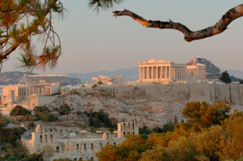 The Acropolis Of Athens Hill Picture thumbnail