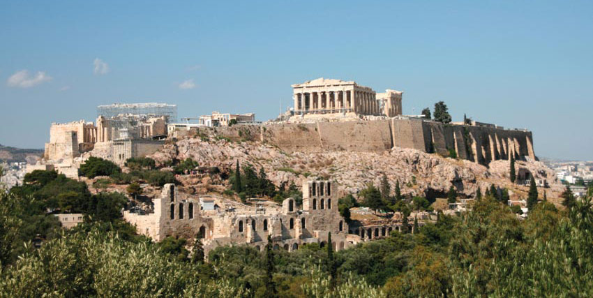 The Acropolis Of Athens Hill Picture