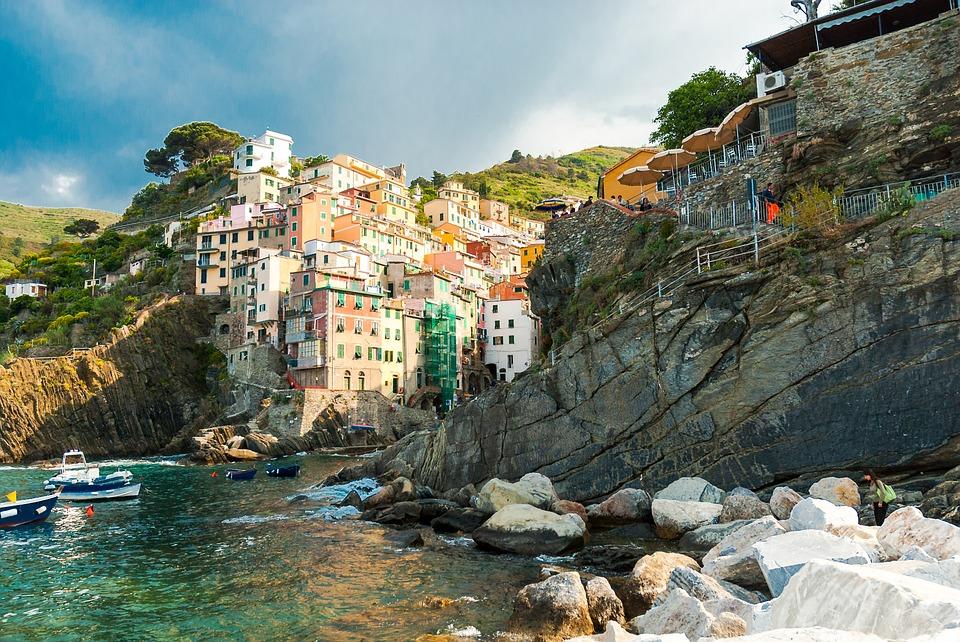 A village by the Ligurian sea in Cinque Terre