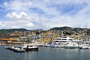 The Old Port of Genoa