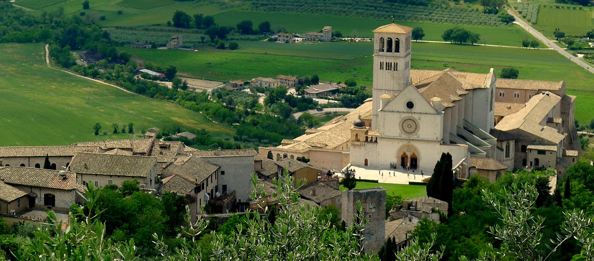 Assisi and Cathedral