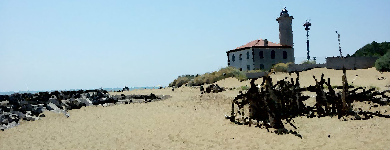 lighthouse in Bibione