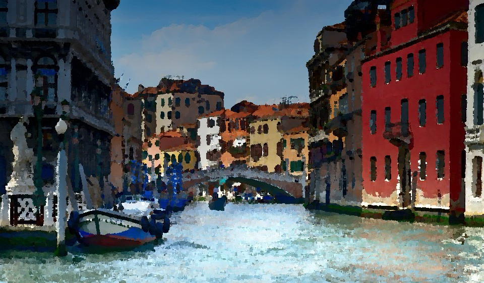 A Venice canal perspective Picture
