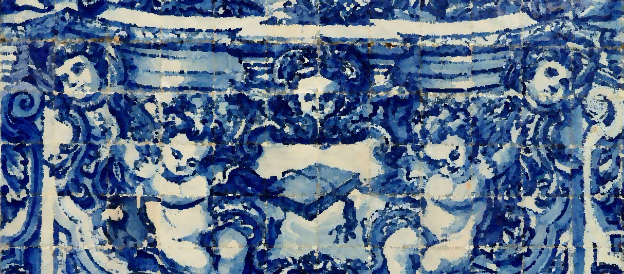 Azulejos Decorative Tiles - Porto, Norte