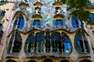Gaudi house architecture thumbnail