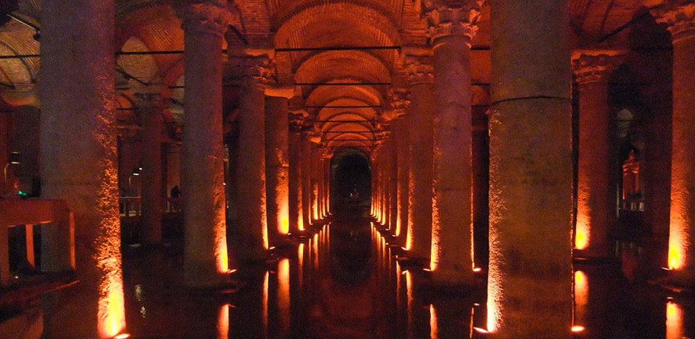 Basilica Cistern - Istanbul, Istanbul Province